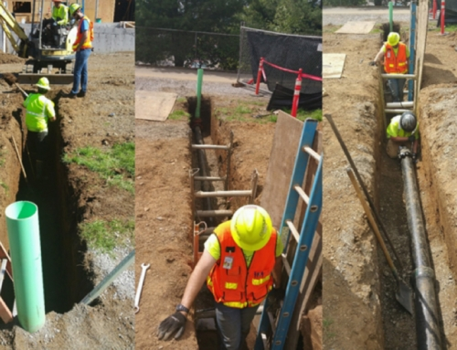 FISHER HOUSE SITE UTILITIES PREPARATION